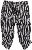 Wenchoice Girl's Black & White Zebra Lace Leggings