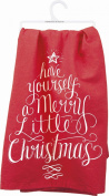 "Primitives By Kathy Kitchen Towel - ""Have Yourself A Merry Little Christmas"""