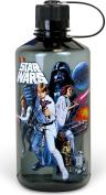 Star Wars Silver Buffalo SW4419 Star Wars Episode 4 Plastic Water Bottle, 1 L, Multicolor