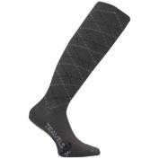 Travelsox TS 5000W Patented Graduated Compression OTC Socks 10-18 Mmhg Grey - Medium