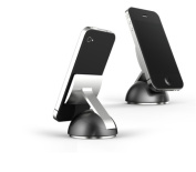 Clear Gear SS-001 S1 Micro Suction Phone Dock - 360 Degree Swivel Mount
