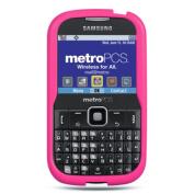 DreamWireless SCSAMR380HP-PR for Samsung Freeform IIII & R380 Premium Skin Case Hot Pink