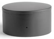 Selkirk Corporation 2717 18cm Heat-fab 22-ga Welded Black Stovepipe Tee Cover