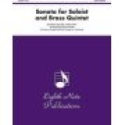 Alfred 81-BQ23149 Sonata for Soloist and Brass Quintet - Music Book