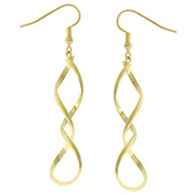 Kate Bissett E01613O-V00 Golden Twist Earrings