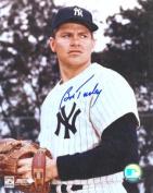 Real Deal Memorabilia BTurley8x10-1 Bob Turley Autographed New York Yankees 8x10 Photo - 2x World Series Champion - Deceased 2013