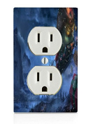 Santa Electrical Outlet Plate