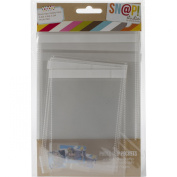 Simple Stories Snatp! Photo Flips Variety for 15cm by 20cm Binders, 12-Pack