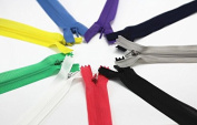 "20pieces Assorted Colour Network Edge Invisible Zipper 60cm 24"" Inches Sewing Zippers Z7"