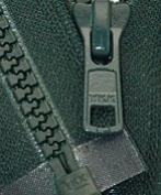 70cm Vislon Zipper ~ YKK #5 Moulded Plastic Sport Zipper ~ Separating - 890 Dark Green Hemlock