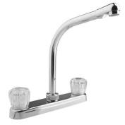 DURA FAUCET DFPK210ACP Hi-Rise RV Kitchen Faucet