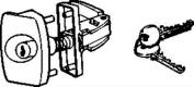 STRYBUC 1721KA Wcm Camper Latch With Key
