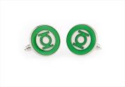 Best Desu 170351GL Green Lantern Cufflinks
