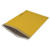 Deluxe Small Business Sales 75-6SCD 32cm x 48cm . Jiffy Self-Seal Padded Mailer Yellow