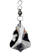 NorthLight 13cm . Seasons Of Elegance Smokey Grey Prismatic Jewel Dangle Christmas Ornament