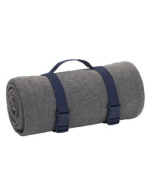 UltraClub 8820 Blanket Carry Strap - Navy