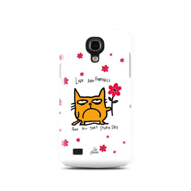 DecalGirl SS4MCC-CATHPY for for for for for for for for for for Samsung Galaxy S4 Mini Case - Catwad Happy