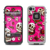 DecalGirl LCI5-PNKSCTR Lifeproof iPhone 5 Case Skin - Pink Scatter