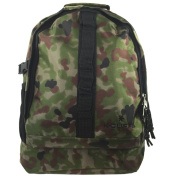 Harvest BBP1137 Camo 420D High Density Nylon Backpack 17.5 x 30cm x 15cm .