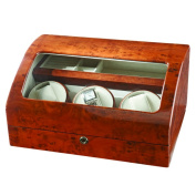 Impenco Watch Winder Box - Winds 3 Holds 2 Watches