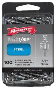 Arrow Fastener Co. RMS.13IP 100 Count .33cm . Medium Steel Rivets