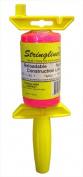 Stringliner 25162 .13 Lb Braided Pink Nylon Pro Reel Reloadable Construction Lin