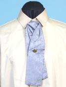 Scully RW064-GRY-ONE Mens Rangewear Silk Puff Tie with Adjustable Neckband Grey One Size
