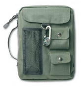 Zondervan Gifts 570660 Bi Cover Compass Canvas Medium Green