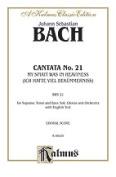 Alfred 00-K06020 BACH CANTATA NO. 21 V