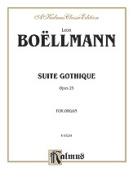 Alfred 00-K03234 Boellmann Suite Gothique Op25 Book