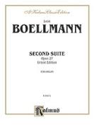 Alfred 00-K04471 Boellmann Second Suite Op.27 Book