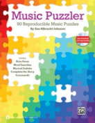 Alfred 00-39991 MUSIC PUZZLER-BK & DATA CD