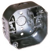 Raco 153 Octagon Box - 10cm x 3.8cm . Deep
