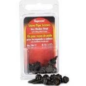 Imperial Manufacturing KK0170 Stove Pipe Screws Hex 12 Pieces