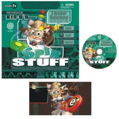 Tedco Toys 32379 I Know Science Dvd Spin Stuff