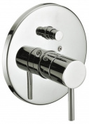 Dawn Kitchen & Bath D2222301BN Pressure Balancing Diverter Valve Trim - Lever Handle - Brushed Nickel