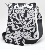 Joann Marrie Designs NUPDMK Urban Pouch Bag - Damask Pack of 2
