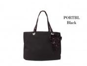 Joann Marrie Designs PORTBL Portofino Bag - Black Pack of 2