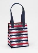 Joann Marrie Designs NLB2MS Large Lunch Bag - Marina Stripe Pack of 2