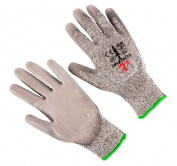 Seattle Glove X5-L Hppe Liner PU Palm Coated Glove Large - Pack of 12