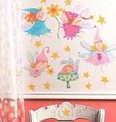 Wallies 12476 Cute Fairies Big Wall Sticker