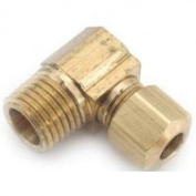 Anderson Metal Corp Elbow Brass Cxmip 1/4X3/8 750069-0406