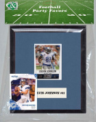 Candlcollectables 67LBLIONS NFL Detroit Lions Party Favour With 6 x 7 Mat and Frame