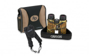 Carson Optical TD-042EDMO 10 x 42 mm. 3D Series Binoculars w/High Definition Optics and ED Glass Mossy Oak