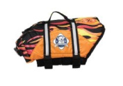 Paws Aboard F1500 Doggy Life Jacket L Flames