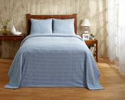 Better Trends BSNATWBL Twin Natick Bedspread Blue - 210cm .