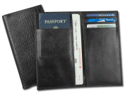 Dacasso a2459 Black Crocodile Embossed Document Holder