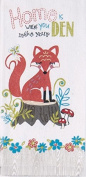 Fiddlehead Fox Kitchen Linens - Home is Where you Make your Den