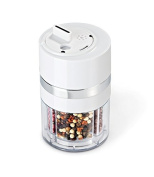 Zevro Dial-a-Spice Multiple Spice Container, White