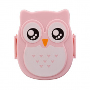 AutumnFall® Owl Lunch Box Food Container Storage Box Portable Bento Box